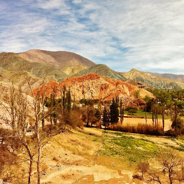 Les montagnes aux 7 couleurs