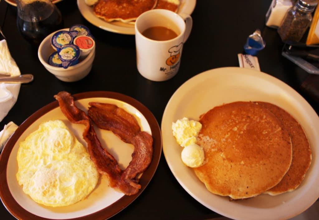 Visite de Seattle petit-dejeuner-americain