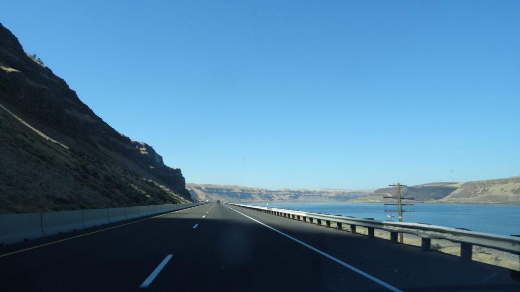 Sur la route de The Dalles