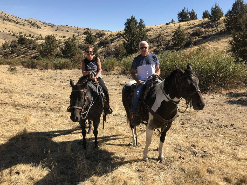 Balade à cheval en Oregon A ride in Oregon