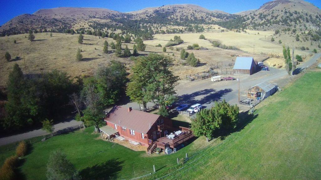 Balade à cheval en Oregon Ranch Wilson