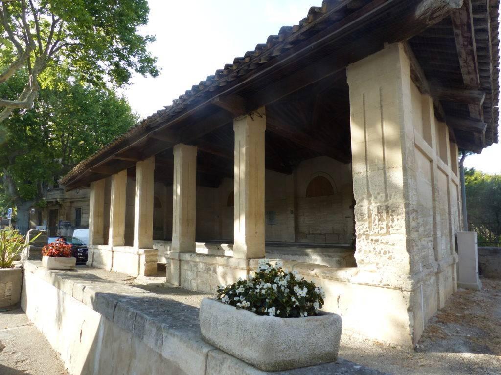 Grand lavoir Napoléon III à Maussane-les-Alpilles