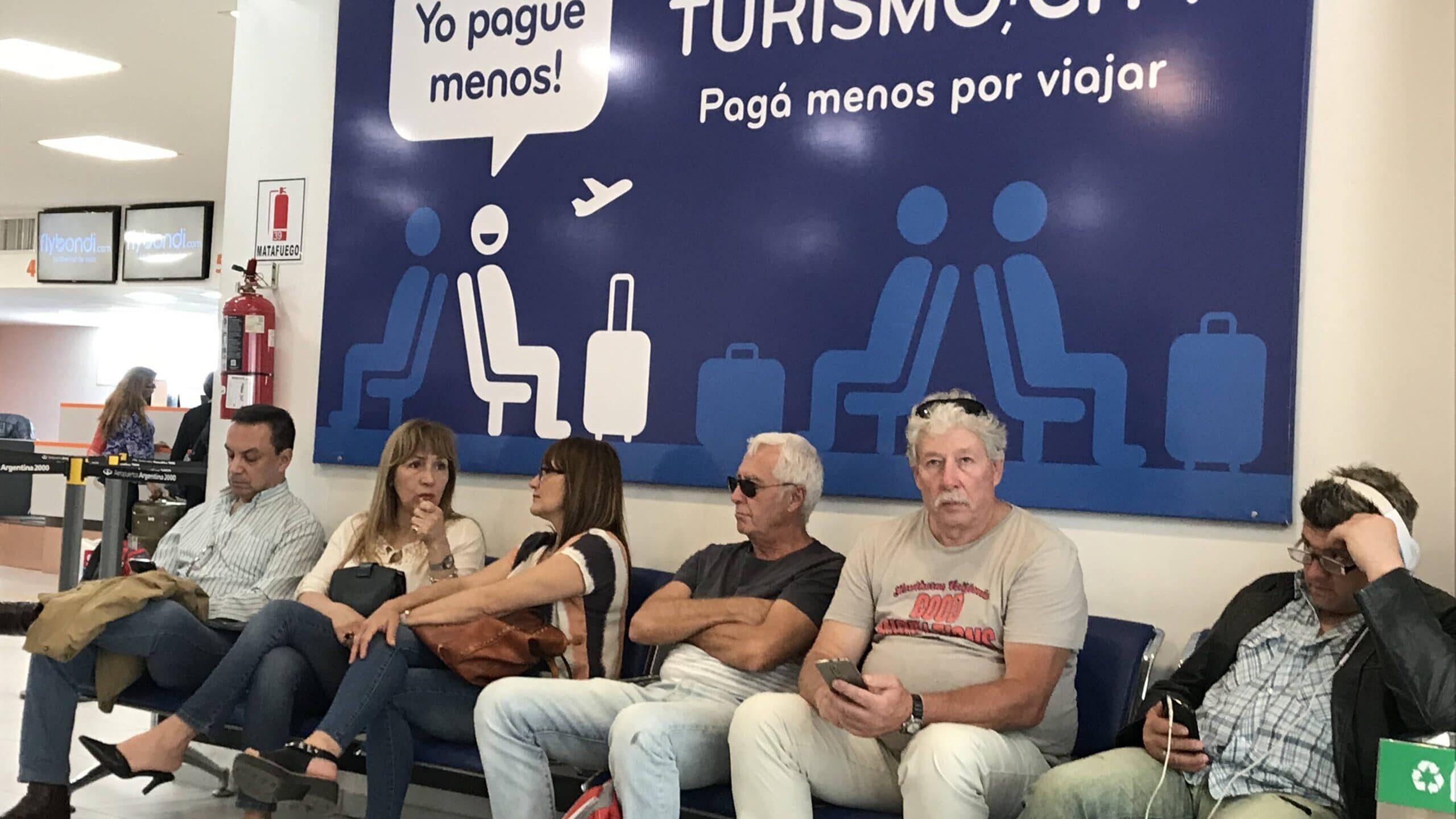 A l'aeroport El Palomar