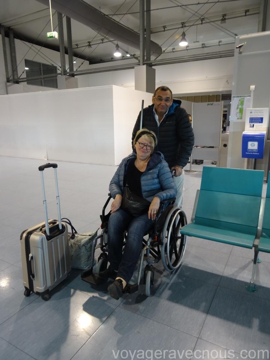 Fin du voyage pour Maryse en fauteuil