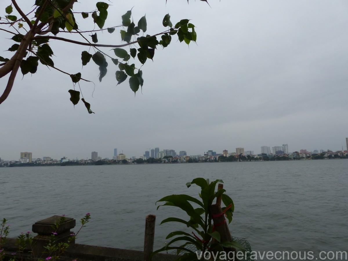 Lac de l'Ouest Hanoï