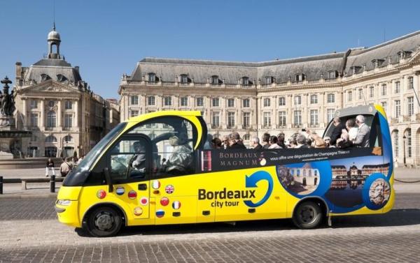 Bus jaune city tour