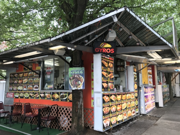 Food cart de Portland