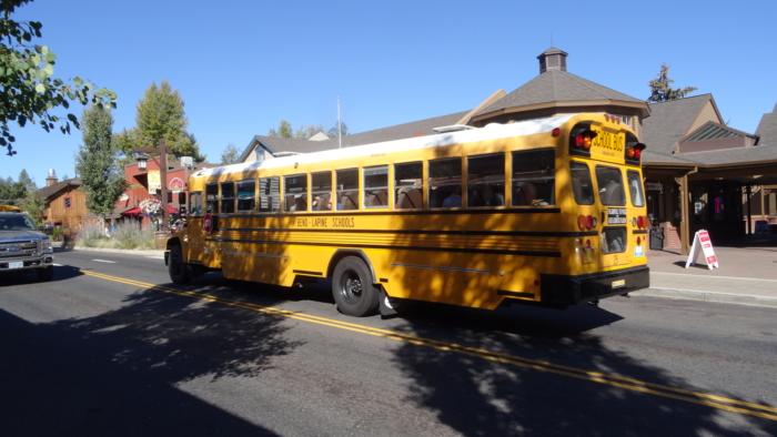 Bus pour l'école