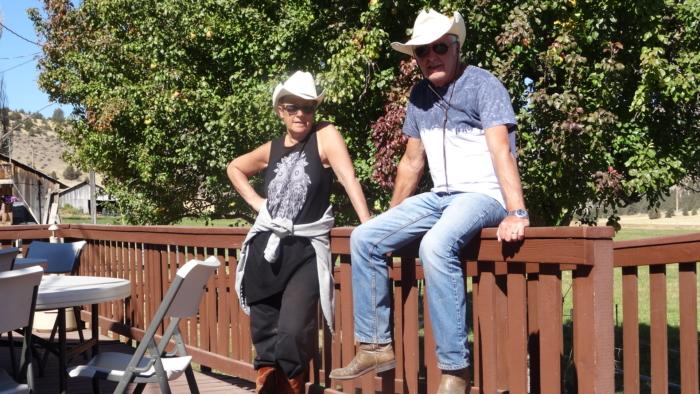 Balade à cheval en Oregon Les cowboys