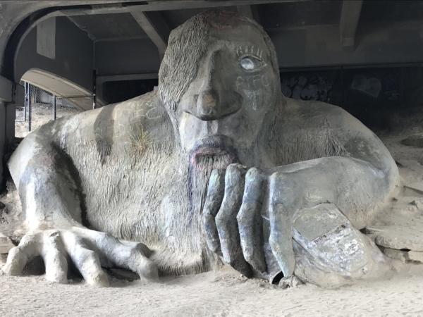Découvrir Seattle Le Troll de Frémont, encore une oeuvre d'art ...