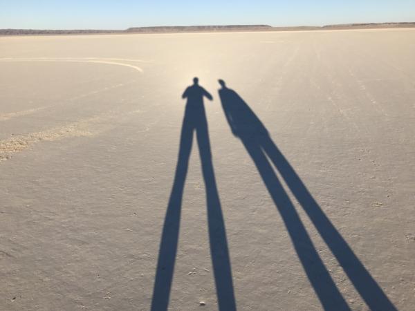 Sur le désert d'Alvord
