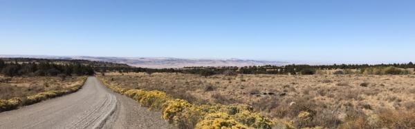 Burns Oregon l'étape du jour Sur la Steens loop route Orégon