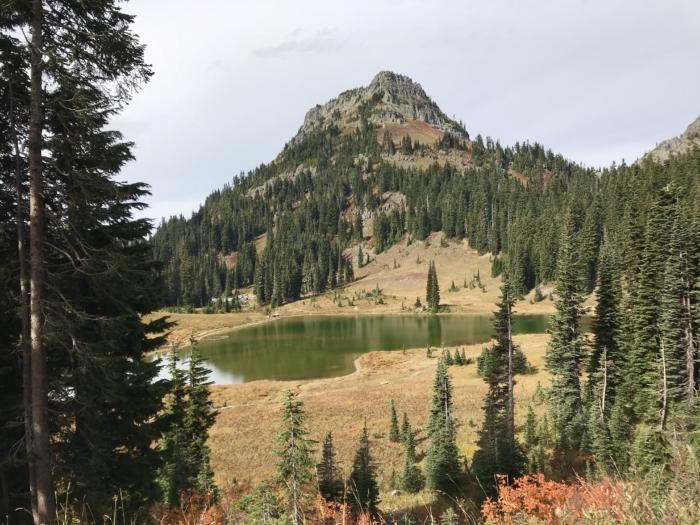 Un petit lac du Mont Rainier