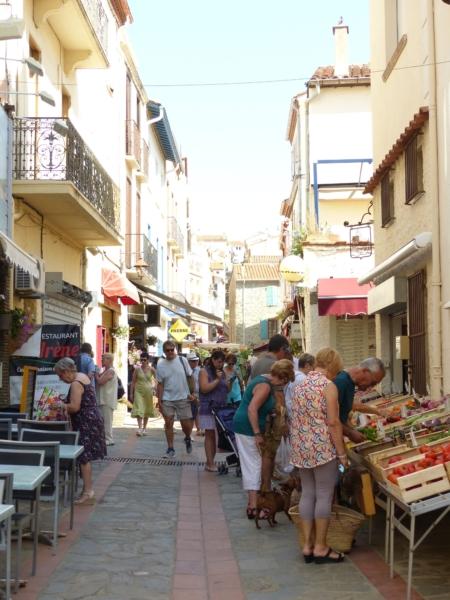 Découvrir Banyuls Rue principale