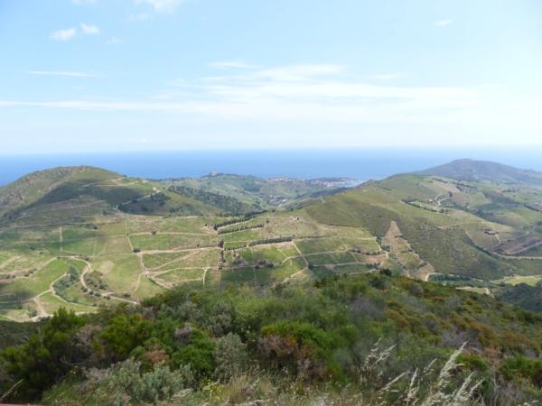 la route panoramique jusqu'a la tour Madeloc,