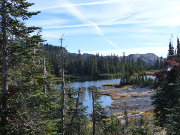 Un lac du Mont Rainier