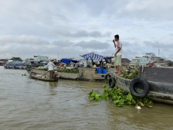 Visite du marché flottant Cai Rang