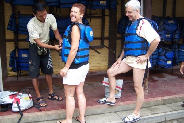 Rafting sur la rivière Ayung