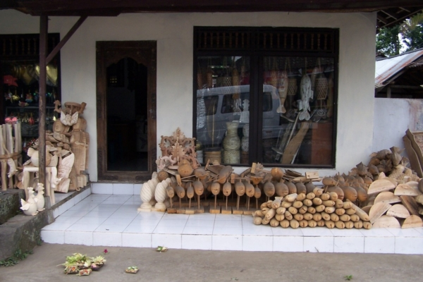 balade et un peu de shopping à Bali