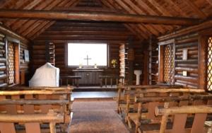 Petite chapelle à Grand Teton National Park