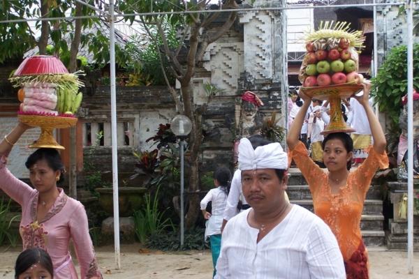 les couleurs de Bali