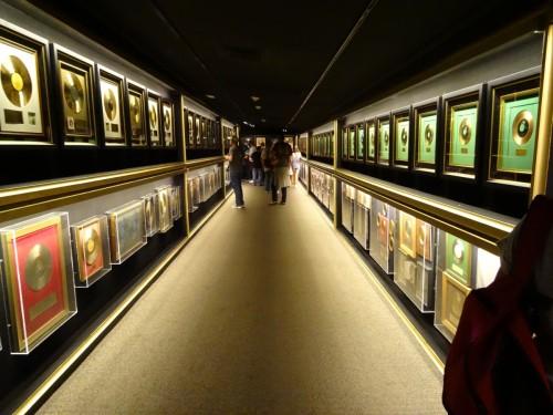 Graceland salle des trophées