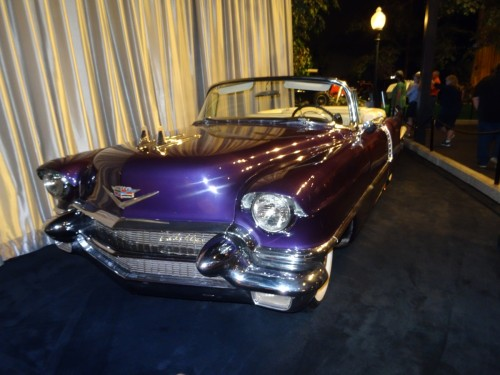 Voiture D'Elvis Cadillac Eldorado Convertible 1956