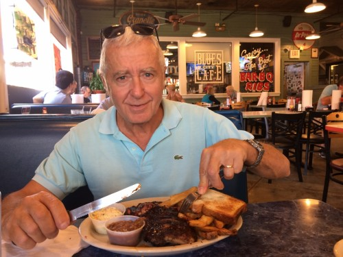 Memphis Blues City Café sur Beale Street