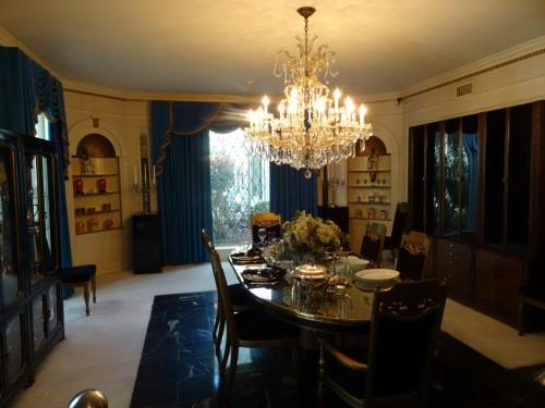 Graceland la salle à manger
