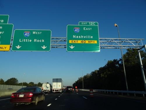 En route pour Nashville