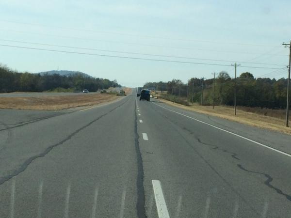 Sur la route de Chattanooga