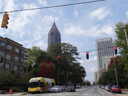 Arrivée Atlanta