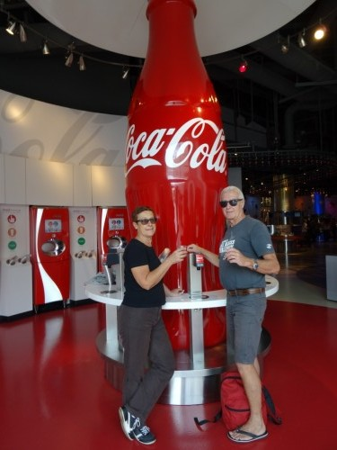 World of Coca- cola le temple de Coca-Cola