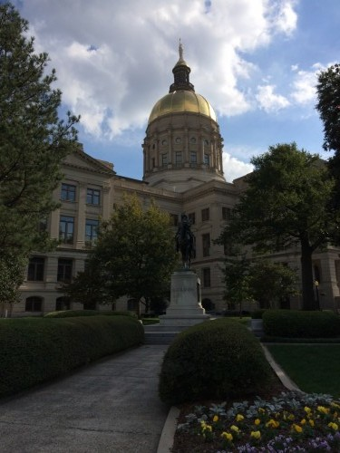 Atlanta  State Capitole construit en 1883-1888