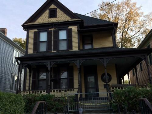 Atlanta  la maison où est né Martin Luter King le 15 janvier 1929