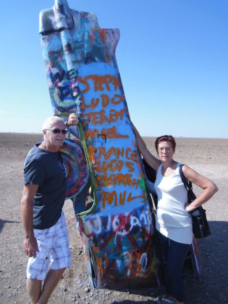 Cadillac Ranch Route 66 2011