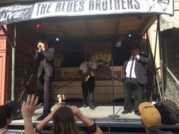 Les bleus Brothers Universal Studio Orlando 2016