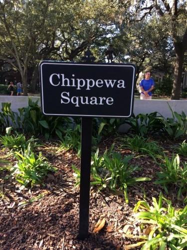 Square De Forrest Gump Savannah