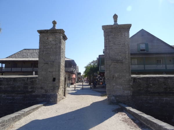 Les portes de St Augustine