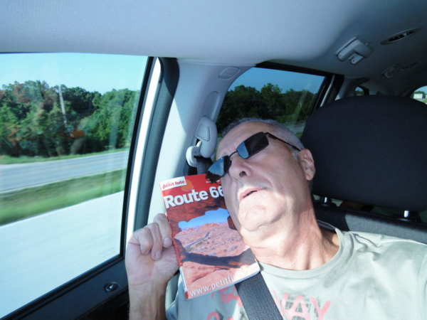 Dans la voiture route 66 2011