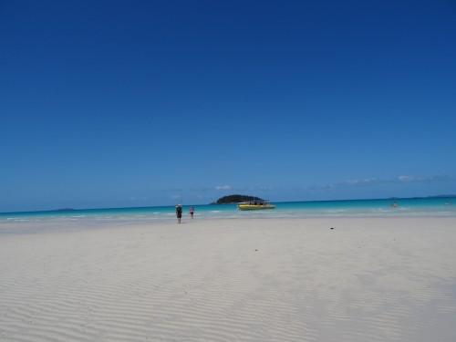 Promenade sur des plages magnifiques