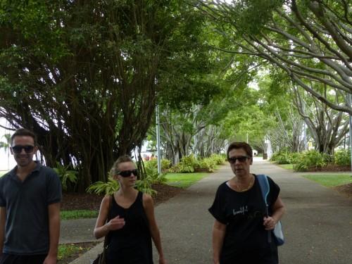 Visite de Cairns