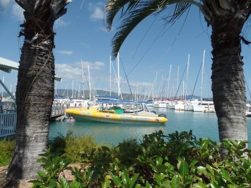 Le port de Mission Beach