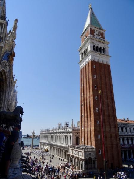 Visite de Venise 19 juin 2017 Le Campanil