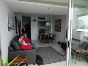 Sydney salon de notre appart