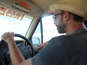 Notre chauffeur Jérémy