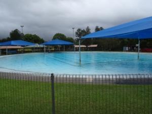 Nimbin La piscine du camping