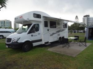Camping sur la route de Brisbanne
